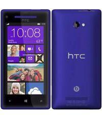 New Condition HTC Windows Phone 8X 16GB Blue Unlocked 4G Smartphone + Warranty