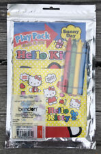 HELLO KITTY PLAY PACK GRAB & GO CRAYONS STICKERS COLORING BOOK SUNNY DAY 1976