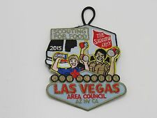 2015 Scouting For Food Patch Las Vegas Area Council BSA Boy Scouts of America