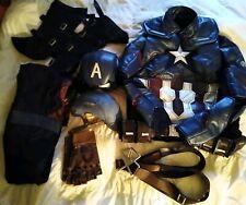 Captain America Avengers End Game Cosplay Costume Men/Boys XL NWOT Marvel unused