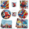 Marvel ULTIMATE SPIDERMAN Boys Birthday Party Tableware Plates Cups Napkins