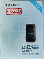 TP-Link TL-WN823N N300 Mini USB Wireless WiFi Network Adapter