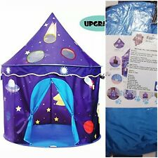 Eggsnow Kids Play Tent Castle folding for Boys and Girls OPEN BOX