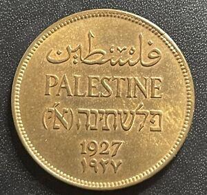 Palestine 1927 2 Mils Coin