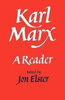 Karl Marx: A Reader, History, General, Communism & Socialism, Paperback, Printed
