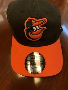 NEW W STICKER - Baltimore Orioles New Era 49Forty Hat - Large - MSRP $28