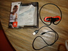Sony Walkman NWZ-W262 Black/Orange 2GB Digital Media Player Special Edition run
