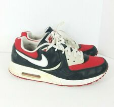 Vintage 2007 NIKE AIR MAX LIGHT Red Gray White US 9.5 Trainers VTG e4a86ae9e