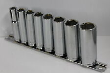 "8 Piece Impact Socket Set 3/8"" Drive Metric Deep Sockets for Impact Guns New"