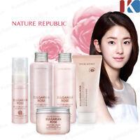 NATURE REPUBLIC Bulgarian Rose Moisture Full Skin Care / Korean Cosmetics
