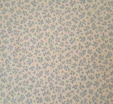 Stafford Bty Antiquities Quilting Treasures Civil War Blue Leaf on Cream