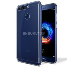 Clear Slim Gel Case and Glass Screen Protector for Huawei Honor 8 Pro