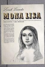 20384 FILM PLAKAT POSTER MONA LISA 1939 mit Zarah Leander