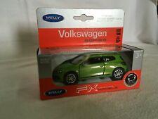 VW Scirocco III 3 - grün - 1:24 WELLY Neu und Ovp