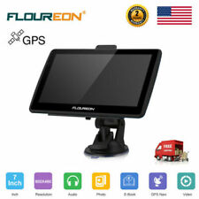 "7"" Portable Car Truck Lcd Touch 8Gb Gps Navigation Sat Nav Navigator w/ Free Map"