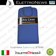 Custodia Cover Samsung Galaxy Ace Plus S7500 verticale Modello Flip