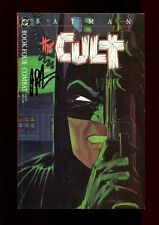 BATMAN THE CULT 4(4.0)(VG)AUTO/ JIM STARLIN W/COA(b029)