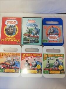 Thomas the tank engine dvds
