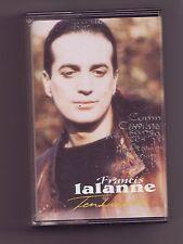 cassette audio bon etat francis lalanne - tendresses -