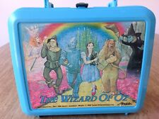 The Wizard Of Oz Vintage 1989 Aladdin 50th Anniversary Plastic Lunchbox Thermos
