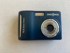 Insignia NS-DSC10B 10MP Digital Camera Blue