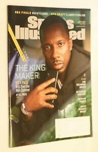 SPORTS ILLUSTRATED MAGAZINE JUNE 17 2019 THE POWER ISSUE THE KING MAKER RICHPAUL