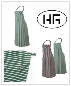 Classic Bib Chef/Cafe/Restaurant Apron 100% Cotton 86*70cm Hospitality Garments