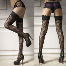 Tube Socks Stockings Sexy Fashion Floral Print Over Knee Thigh High Stockings