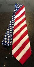 New listing Patriotic Usa American Flag Stars Stripes Neck Tie Handmade Steven Harris 4th