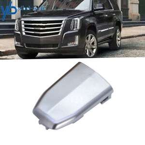 Front Door Handle Lock Cylinder Cover Chrome OE For 2015-2019 Cadillac Escalade