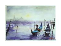 Original Aquarell Einzelstück Unikat Gemälde impressionistisch Venedig