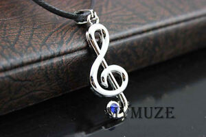 Vocaloid Kagamine Rin Hatsune Miku Musical Note Necklace Cosplay Pendant Gift