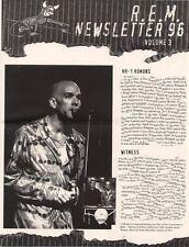 R.E.M. Fanclub Newsletter 1996 Vol.3