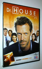 DVD DR. HOUSE VOLUME 1 - SAISON 1 : EPISODES 1 à 4 - 2004/2005