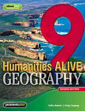 Humanities Alive Geography 9 & eBookPLUS (PaperbacK) LIKE NEW, FREE SHIPPING
