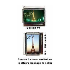 Paris France Custom Italian Charm Eiffel Tower Beautiful charm europe