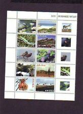 Aruba  2013   NATUUR BLOEMEN VOGELS EZEL HAGEDIS   postfris/mnh