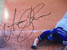 aaron cunningham san diego padres cleveland indians autographed 8 x 10 photos