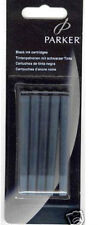 Parker Black Ink Cartridges New In Pack  Fountain Pen Cartridges Pack Of 5