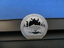 2013-S Silver Quarter White Mountain NH Deep Cameo Mirror Proof Upper Grades