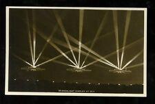 Royal Navy BRITISH Searchlights vintage RP PPC