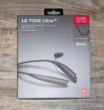Lg Tone Ultra Se Hbs-835S Bluetooth Wireless Headset Black Factory Sealed New