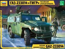 ZVEZDA 1:35 KIT MEZZO MILITARE RUSSIAN ARMORED VEHICLE GAZ 233014 TIGER ART 3668