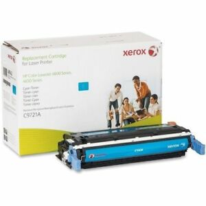 NEW Genuine Xerox Toner Cartridge Compatible to HP C9721A SEALED BAG 4600 641A