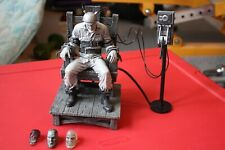 Sin City Death Row Marv in vibrating electric chair Talking Action Figure