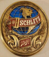 Rare Vintage 1977 Schlitz Beer Bar Advertising Wall Sign - Jos. Schlitz Co. Usa