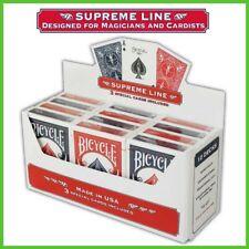 Mazzo di Carte BICYCLE SUPREME LINE Poker Giochi Prestigio Magia Trucchi con le