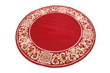 Alfombra redonda Rayón meandros Medusa muebles rojo Carpet .152 cm ∅ Versac