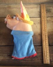 Vintage 1960 Arches Co. Hand Sock Puppet , Rubber , Mule , Donkey