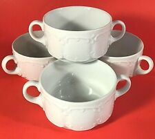 ROSENTHAL CLASSIC MONBIJOU CREAM SOUP CUPS GERMANY SET OF 4 VINTAGE